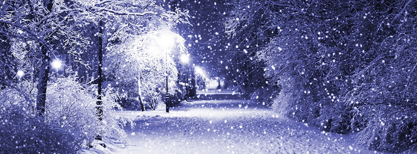 neige qui tombe
