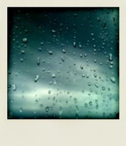 Pluie sur le carreau