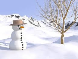 bonhomme de neige -